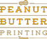 Peanut Butter Printing